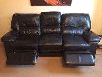 Electric recliner Sofa plus matching chair BARGAIN NEED GONE ASAP