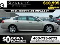 2011 Chevrolet Impala LT $89 bi-weekly APPLY NOW DRIVE NOW