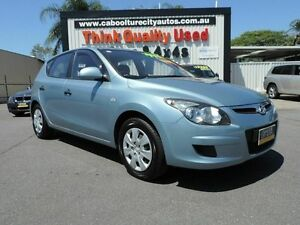 2010 Hyundai i30 FD MY10 SX Blue 4 Speed Automatic Hatchback Caboolture South Caboolture Area Preview
