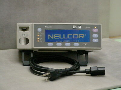 Nellcor N-395 Pulse Oximeter - New Battery