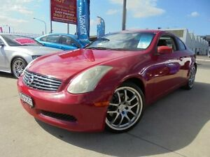 2005 Nissan Skyline V35 350GT Red 6 Speed Manual Coupe Holroyd Parramatta Area Preview