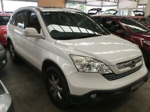2007 Honda CR-V RE MY2007 Sport 4WD White 5 Speed Automatic Wagon Cardiff Lake Macquarie Area Preview