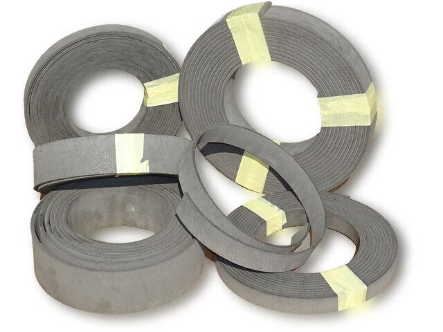 Bremsbelag p/mtr Meterware Bremsband 80 x 6 mm für Traktor Schlepper und LKW Foto 1