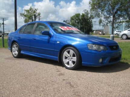 2006 Ford Falcon BF XR6 Blue 6 Speed Auto Sequential Sedan Holtze Litchfield Area Preview
