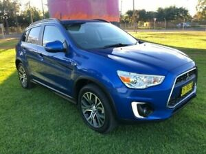2016 Mitsubishi ASX XB MY15.5 LS (2WD) Blue Continuous Variable Wagon Coonamble Coonamble Area Preview
