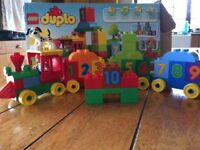Lego/Duplo - 'Learn to Count' train