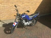 Yamaha YBR125 (legal learner motorbike, 6m MOT, easy access collection from E1)