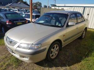 2001 Mazda 626 Classic Gold 5 Speed Manual Sedan Edgeworth Lake Macquarie Area Preview