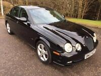 2003 03 JAGUAR S-TYPE 2.5 V6 SPORT 4D 201 BHP