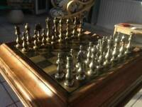 Games table chess,cards black gammon etc