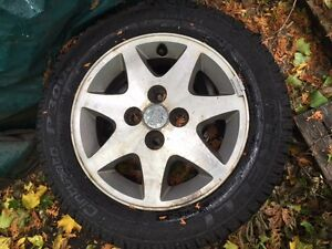 Ford Wheels and winter tires 185/60/R14