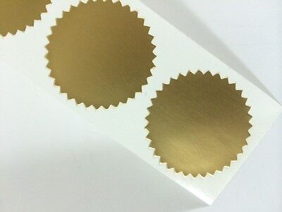 50 1.250 Certificate Wafer Seals Labels Awards Legal Embossing Stickers Craft
