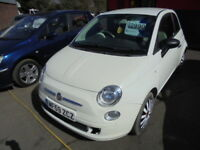 Fiat 500 1.2i Pop, CAT S REPAIRED (white) 2009