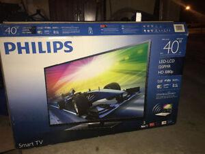 """40"""" Philips 4K series (Smart Tv)"""