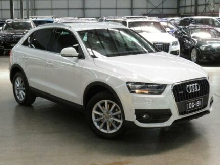 2014 Audi Q3 8U MY14 8U TDI Wagon 5dr S tronic 7sp quattro 2.0DT (103kW) [MY14] White 7 Speed