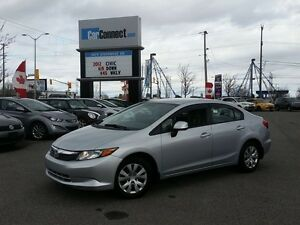 2012 Honda Civic ONLY $19 DOWN $50/WKLY!!