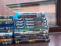 blu rays and some dvds for sale