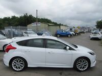 Ford Focus ZETEC S TDCI 5d 161 BHP be quick wont in stock long !! (white) 2013