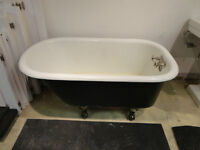 RARE 48 inch antique Clawfoot Tub - Excellent condition!