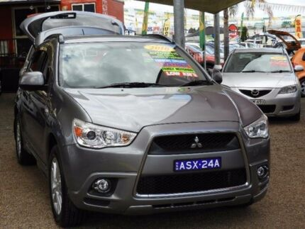 2010 Mitsubishi ASX XA MY11 Aspire Grey 6 Speed Constant Variable Wagon