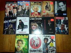 DVD Humour Matte, Dion, Béland, Courtemanche, Les parlementeries