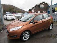 Ford Fiesta ZETEC TDCI 5d 74 BHP free road tax (yellow) 2013