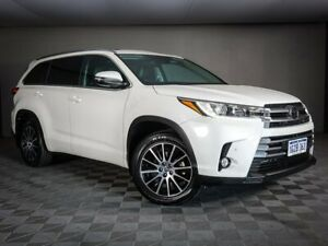 2018 Toyota Kluger GSU50R Grande 2WD White 8 Speed Sports Automatic Wagon Maddington Gosnells Area Preview