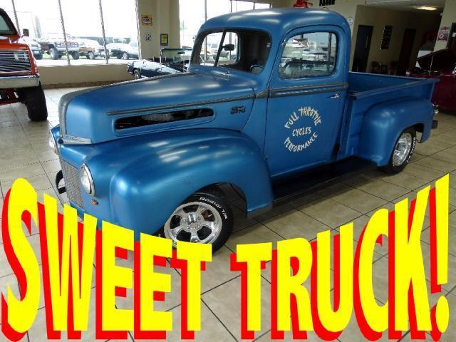 Ford : F-100 RAT/HOT ROD 1947 FORD F100 F1 FAT FENDER HOT ROD RAT SHOP TRUCK 48 49 50 51 52 53 54 55 SBC