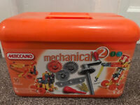 Meccano Mechanical 2 and Meccano Rescue Team (Not all pieces are there)