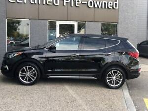 2017 Hyundai Santa Fe Sport SE w/ TURBO / LEATHER / PANORAMIC RO