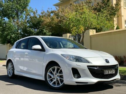 2012 Mazda 3 BL10L2 SP25 Activematic White 5 Speed Sports Automatic Sedan Medindie Walkerville Area Preview