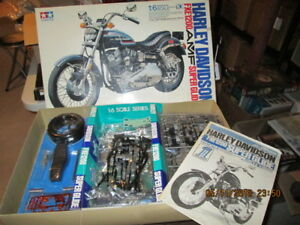 Harley Davidson 1/6 scale kit mint new.