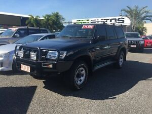 2002 Nissan Patrol Y61 ST 7 SEATER Blue 4 Speed Auto Active Select Wagon Winnellie Darwin City Preview