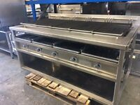 Rorgue 5 Burner Chargrill in Immaculate Condition