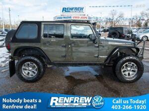 2015 Jeep Wrangler Unlimited Rubicon! Navi! Leather! Warn Winch!