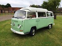 1972 4 Berth VW T2 Camper Van Original UK Right Hand Drive For Sale