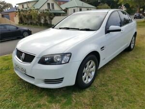 2012 Holden Commodore VE II MY12 Omega White 6 Speed Automatic Sedan Broadmeadow Newcastle Area Preview