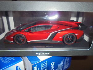 KYOSHO 09501RM Lamborghini Veneno rot metallic - 1:18 #NEU in OVP