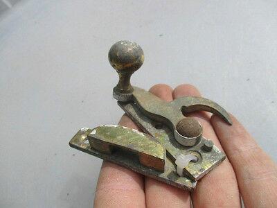 Vintage Brass Sash Window Latch Catch Fastener Old Architectural Salvage Ball