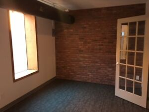 Studio loft space for rent on Whyte Ave