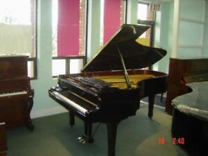 collection of concert grand pianos Yamaha C7 and Kawai KG6