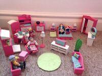 ELC Rosebud Furniture And Family
