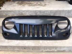 Eagle Eye Jeep Grill with Mesh Insert
