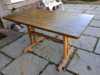 Farmhouse-style kitchen table (no chairs)