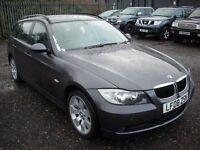 BMW 3 SERIES 2.0 320D SE TOURING 5d AUTO 175 BHP (grey) 2008