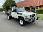 2012 Toyota Landcruiser VDJ79R Workmate White 5 Speed Manual Utility Chermside Brisbane North East Preview