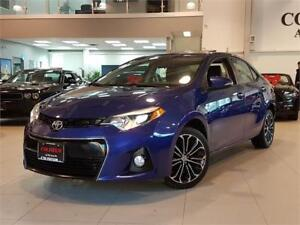 2015 Toyota Corolla S-SPORT-AUTO-SUNROOF-CAMERA-ONLY 94KM
