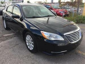 2012 Chrysler 200 Touring|90K|BLACK|LEATHER|