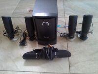 Dell speaker and subwoofer set