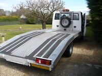 Ford Transit 2004 350 Long Wheel Base T250cc Diesel Recovery Truck For Sale!